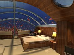 What an Awesome vacation, under water! Poseidon Interior
