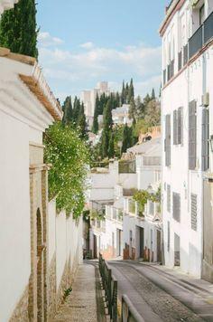 Streets in Granada  #andalusia #alandalus #espana #spain ingephotography.nl
