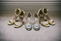 Rachel Simpson Blue Shoes Bride Bridal Charming Rustic Home Made Yellow Barn Wedding http://www.darrengairphotography.co.uk/