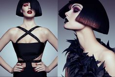 Creatively Minimalist Fashion : Marie Claire Hungary April 2014