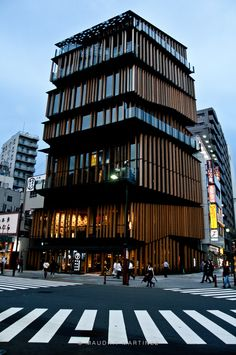 Love this new building in Asakusa