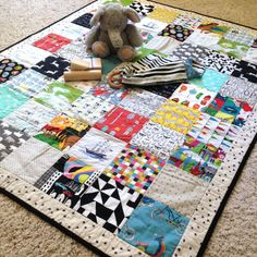 Modern I-Spy Quilt  ispy quilt  i spy quilt  baby quilt