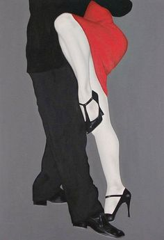 To dance the Argentine Tango all night long. Shall We Dance, Lets Dance, Tango Art, Tango Dancers, Dancing Drawings, All About Dance, Dance Paintings, Argentine Tango, Salsa Dancing