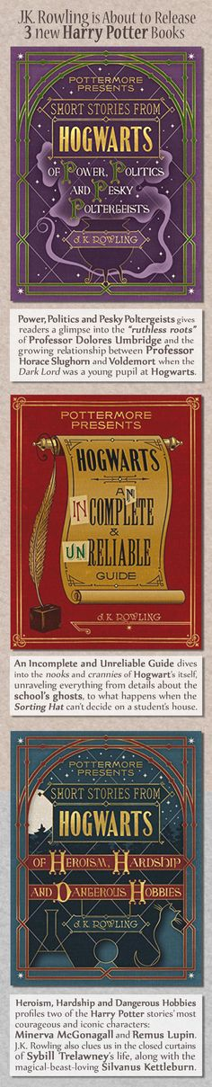 """Pottermore Presents is intended to supplement the Harry Potter book series with short-form content that is entertaining and thematically curated by the Pottermore editorial team,"" Jurevics said. New Harry Potter Book, Harry Porter, Must Be A Weasley, Mischief Managed, Book Nerd, Book Worms, Hogwarts, Short Form, Reading"