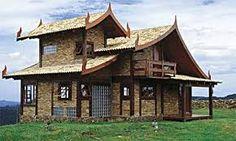 Resultado de imagem para fachada de casas brancas gregas com pé direito duplo