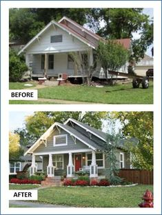 20 home exterior makeover before and after ideas pinterest