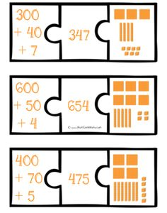 Here's a terrific set of number puzzles for working on expanded notation.