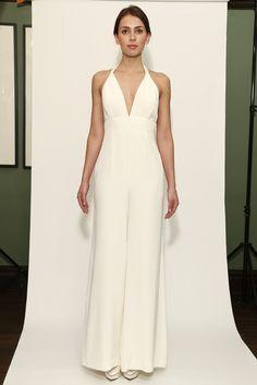 Vestido de novia super minimalista de Temperley London (FW 2014) #weddingdresses #NYBW