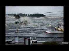 松川浦に押し寄せる津波  【視聴者提供映像】 - YouTube