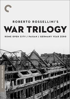 Roberto Rossellini's  War Trilogy (Criterion DVD)