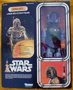 Kenner Star Wars Large Size Action Figure - Boba Fett.  I had this as a child and traded it.  Oh well.  I played with it hard and probably should have kept it.  Ah, but it is the memories.