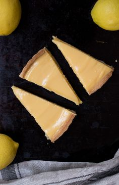Thermomix Lemon Tart - made with sweet shortcrust pastry and a zesty lemon filling, it's light and delicious.