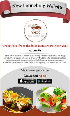 #Online #Food #Ordering #Portal , Order Food From Your #Favorite #Restaurant Visit: https://www.ymoc.com