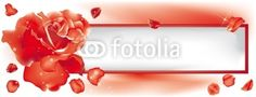 Message with rose, ideal for Valentine's Day crazycolors © fotolia