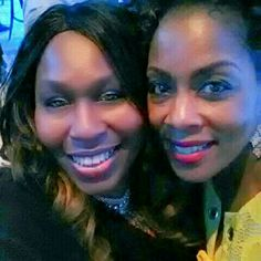 At Meet Me Monday with Micheline Bowman having a BLAST!