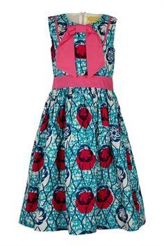 Isossy African dress, girls, children
