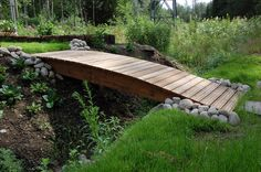 Kaarisilta Walkway, Garden Bridge, Future House, Outdoor Structures, Yard Ideas, Bridges, Gardens, Projects, Sidewalk