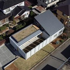 南西鳥瞰: アトリエ24一級建築士事務所が手掛けた家です。