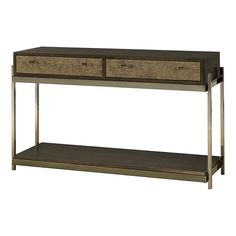 Hammary Furniture - High Point, NC - HOME ENTERTAINMENT :: SOFA/CONSOLE TABLE