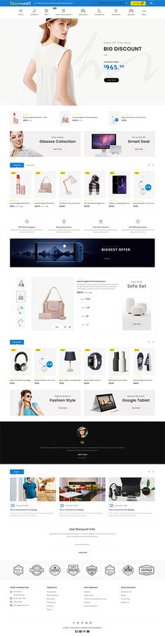 30 Best Web app design inspiration article for our loyal readers. - 30 Best Web app design inspiration article for our loyal readers. Every day we are showcasing a web - Web Design, Layout Design, Ecommerce Website Design, Homepage Design, Website Design Inspiration, Design Ideas, Trendy Furniture, Furniture Design, Store Layout