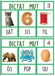 1 SIL.LABA Catalan Language, O Pop, Math Numbers, Educational Activities, Valencia, Conte, Altered Books, Montessori, Kindergarten