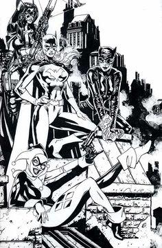 Batwomen by Jim Lee