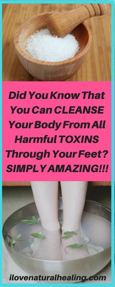 One of the best and most effective ways to get rid of the toxins your body builds up over time is detox through your feet. This powerful method does not need cutting certain food out of your diet and it is considered as one of the safest ways of total detoxification.