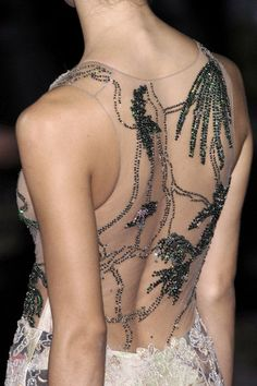 Armani gorgeous transparent back