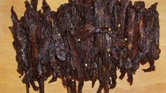 The Best Teriyaki Beef Jerky Recipe - Genius Kitchen Beef Jerky Marinade, Venison Jerky Recipe, Homemade Beef Jerky, Best Beef Jerky Recipe Dehydrator, Maple Beef Jerky Recipe, Traeger Jerky Recipe, Teriyaki Beef Jerky Recipe Dehydrator, Smoker Beef Jerky, Oven Jerky
