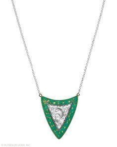 http://mysilpada.com/kara.montague  Patina Shield Necklace, Necklaces - Silpada Designs