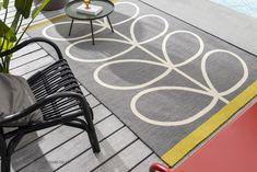 Orla Kiely, Silver Grey Rug, Polypropylene Rugs, Indoor Outdoor Area Rugs, Grey Rugs, Modern Rugs, Wool Area Rugs, Slate, Design Inspiration