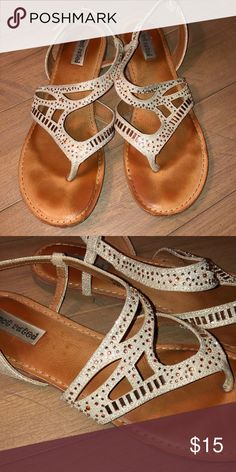 59d1a2baa60dbf Not Rated brand sandal Not Rated brand sandal gold color with rose gold  bling Not Rated