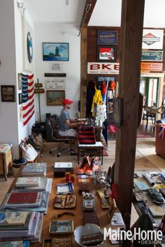Located near the Maine Homestead vacation rental. Cape Porpoise Outfitters
