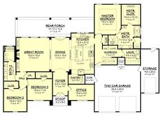Cypress Pointe Country French House Plan
