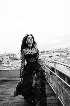 Monica Bellucci for Caderno Ela