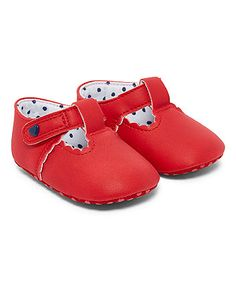 red t-bar pumps | baby shoes & booties | Mothercare