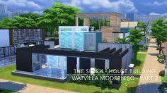 The Sims 4 - House Building - Watvilla Modern SQ - Part 2