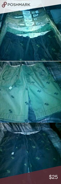 Abercrombie men's shorts Size 34 and 36 and Abercrombie shorts Abercrombie & Fitch Shorts Cargo