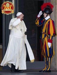 Buona giornata, Santo Padre! Good morning, Pope Francis