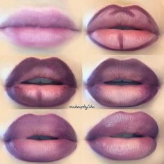"@shophudabeauty on Instagram: ""#Repost @makeupbyliha how to get plumpy ombre lips @hudabeauty @shophudabeauty…"""