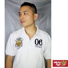 【AMERO】男裝短袖棉質POLO衫(白)-momo購物網