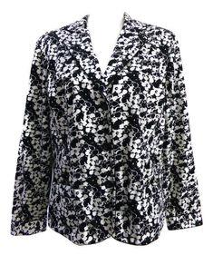 M Rena Women/'s Sleeveless Houndstooth Hoodie Jacket Grey Multiple Sizes