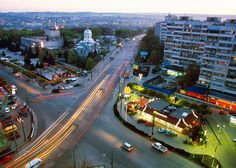 Chisinau, Moldova. Maybe on the itinerary