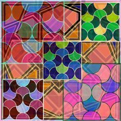 Tile Art, Mosaic Tiles, Abstract, Artwork, Mosaic Pieces, Work Of Art, Art Tiles