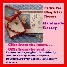 ST. PADRE PIO CHAPLET PRAYER WITH ROSARY