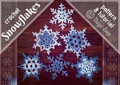 Trendy Ideas For Crochet Patterns Free Doily Snowflake Ornaments Diy Christmas Fireplace, Diy Christmas Snowflakes, Snowflake Craft, Snowflake Decorations, Crochet Christmas Ornaments, Christmas Crochet Patterns, Holiday Crochet, Snowflake Ornaments, Christmas Crafts