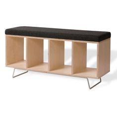 OFFI Bench Box - love this for the entryway - modern!