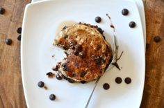 nowplease:  chocolate chip oatmeal pancakes