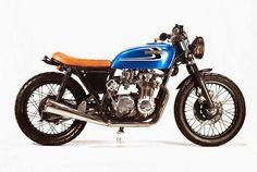 Honda CB550 Bratstyle | Honda CB550 | Custom Honda CB550 | Bratstyle | Honda Bratstyle | way2speed.com | Honda hard tail