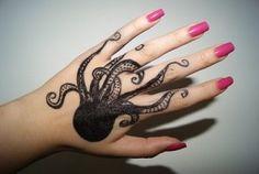tatuaje pulpo mano | Tatuajesxd